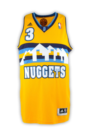 7d026f352 Denver Nuggets Jersey History - Jersey Museum