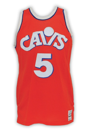 Cleveland Cavaliers Jersey History - Jersey Museum 4d391a424