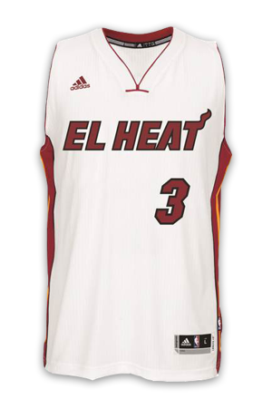 best authentic 66cb1 cf92e Miami Heat Jersey History - Jersey Museum