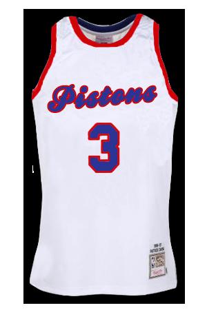 online retailer f84ad 30e2e Detroit Pistons Jersey History - Jersey Museum