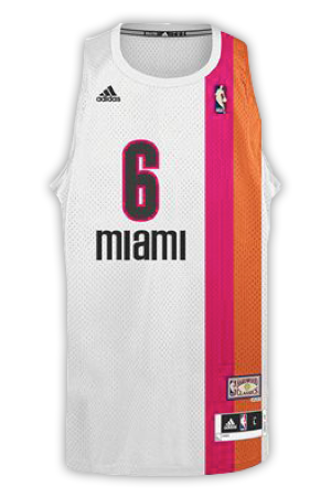 best authentic 1ccce 6a784 Miami Heat Jersey History - Jersey Museum