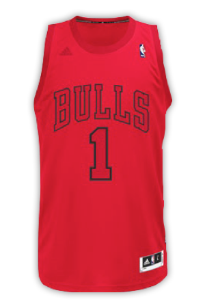 Chicago Bulls Christmas Jerseys