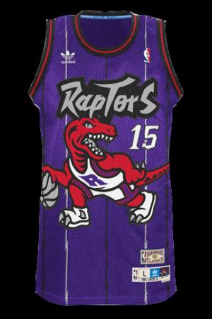 huge discount 6ebd0 ff043 Toronto Raptors Jersey History - Jersey Museum