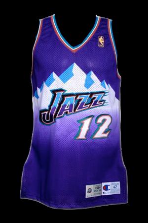609f7e87 Utah Jazz Jersey History - Jersey Museum