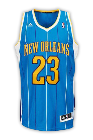 3dda1283b41 New Orleans Pelicans Jersey History - Jersey Museum