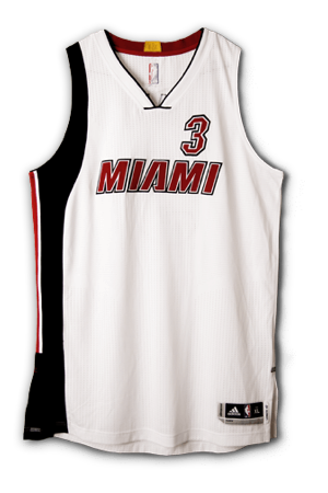 best authentic e91e2 648a0 Miami Heat Jersey History - Jersey Museum