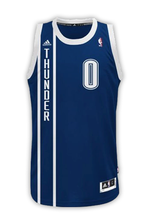 low priced 27d71 f4127 Oklahoma City Thunder Jersey History - Jersey Museum